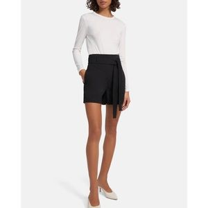 Theory Belted Shorts